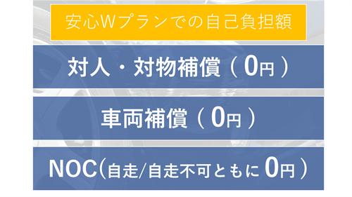 安心Wプランに加入した場合の自己負担額はほぼ0円!