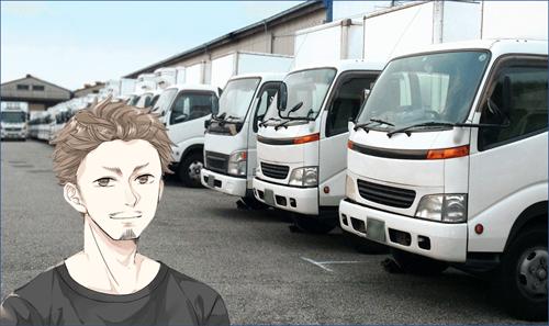 トラックと室伏